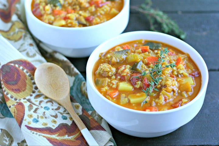 Mostly Veggie Soup from www.EverydayMaven.com