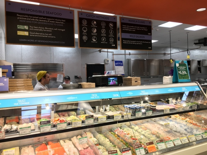 New Seasons Seafood Counter from www.EverydayMaven.com