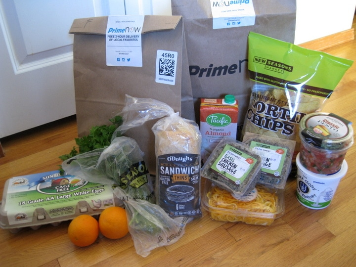 New Seasons Amazon Prime Now Delivery from www.EverydayMaven.com