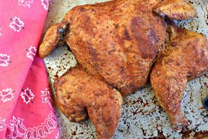 Cajun Smoked Chicken