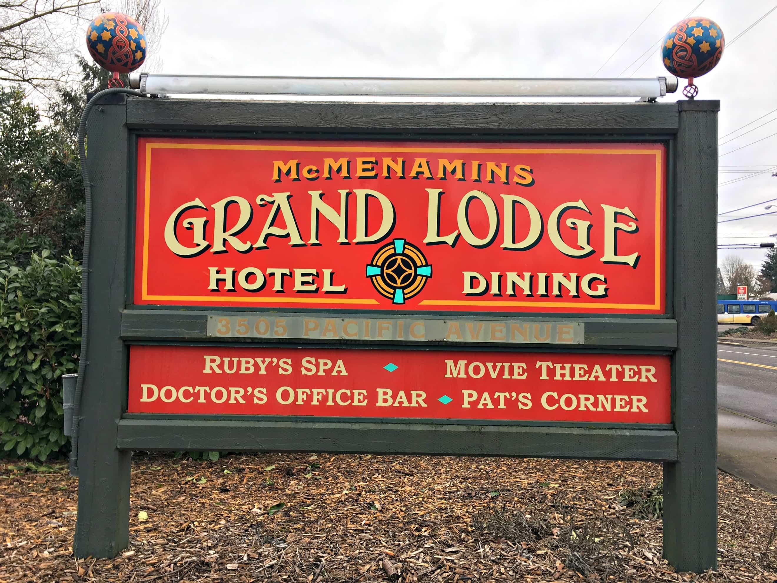 McMenamins Grand Lodge #PNWFoodRetreat