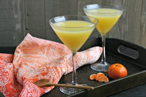 Coconut Orange Saketini and all about the #PNWFoodRetreat
