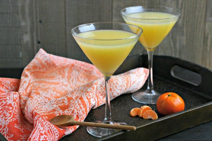 Coconut Orange Saketini from www.EverydayMaven.com