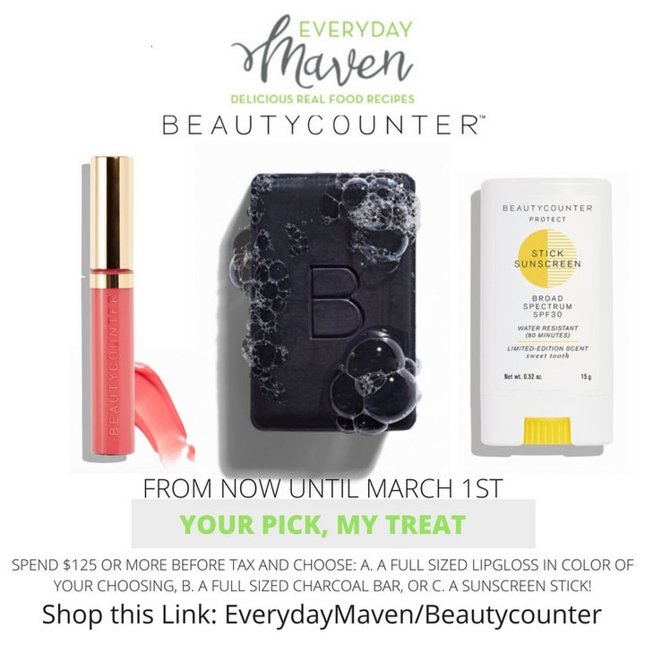 Beautycounter Launch Promo from www.EverydayMaven.com