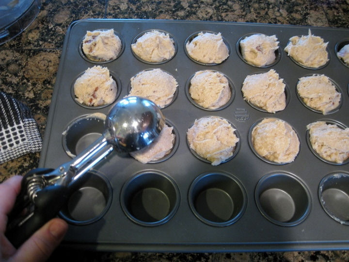 Mini Maple Pecan Banana Muffins Grain Free, Gluten Free ...
