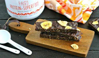 Chocolate Banana Paleo Protein Bars