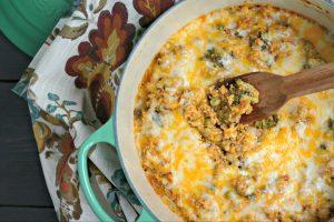 One Pot Cheesy Quinoa with Veggies