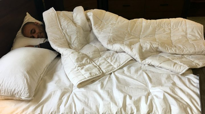 Non-Toxic Bedroom: Bedding Material Choices