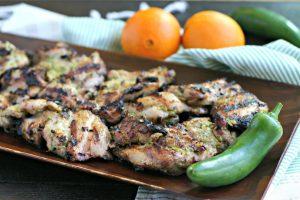 Spicy Asian Grilled Chicken Marinade