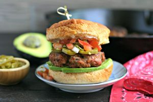 Grilled Taco Turkey Burgers