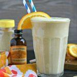 Creamy Cashew Citrus Smoothie from www.EverydayMaven.com