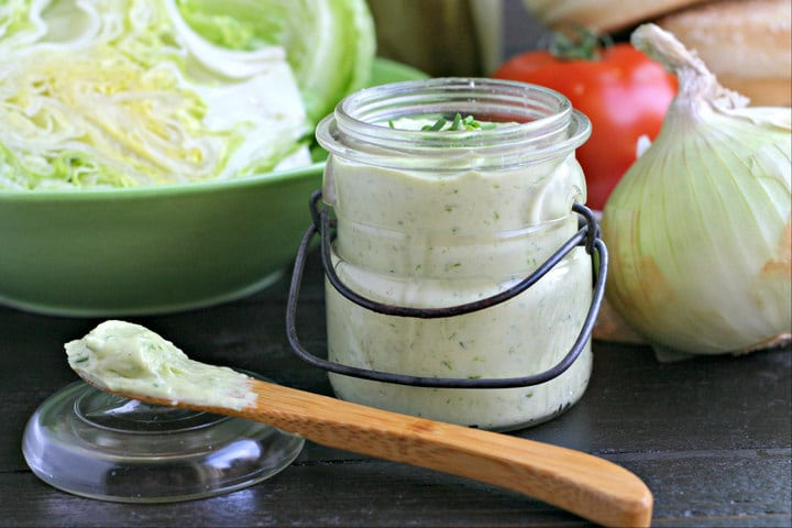 Garlic Chive Mayonnaise Recipe from www.EverydMaven.com