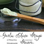 Garlic Chive Mayonnaise Recipe from www.EverydMaven.com
