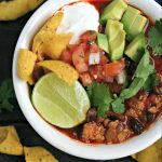 Instant Pot Chicken Taco Soup Recipe from www.EverydayMaven.com