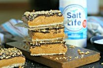 Low Sodium Salted Peanut Butter Bars