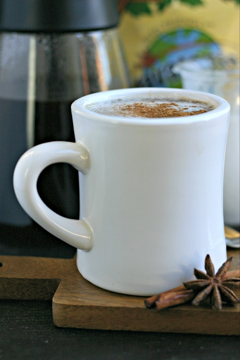 Dirty Chai Coffee from www.EverydayMaven.com