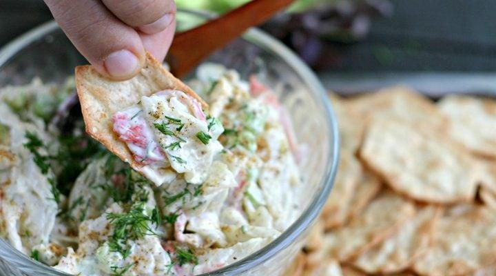 Old Bay Seafood Salad