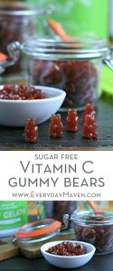 Sugar Free Vitamin C Gummy Bears from www.EverydayMaven.com
