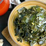 Creamy Vegan Collard Greens from www.EverydayMaven.com