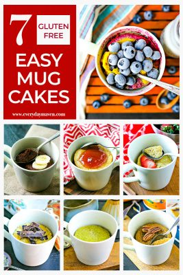 a collection of mug cake pictures for pinterest
