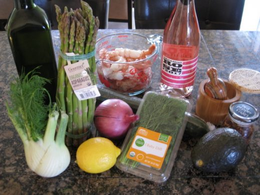 Poached Shrimp Salad Ingredients from www.EverydayMaven.com