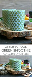After School Green Smoothie from www.EverydayMaven.com
