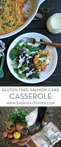 Gluten Free Salmon Cake Casserole from www.EverydayMaven.com