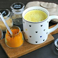 Turmeric Milk (5 Minute Golden Milk)