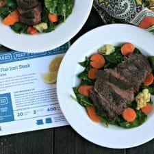 Lemon-Glazed Flat Iron Steak | Fred Meyer Meal Kit