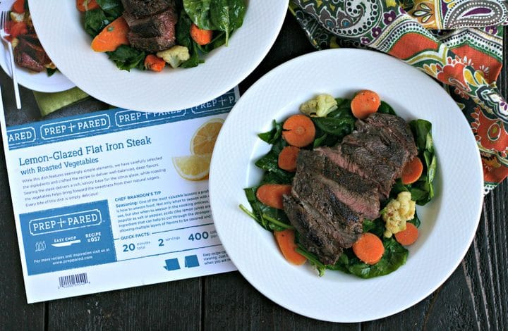 Lemon-Glazed Flat Iron Steak | Fred Meyer Meal Kit