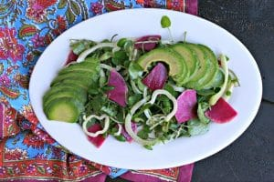 Watercress Salad with Fennel and Avocado