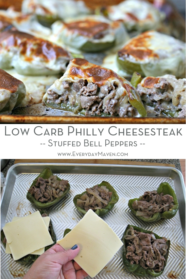 Everything you love about Philly Cheesesteaks in a Low Carb / Keto and Gluten Free version that is super easy to make and on the table in less than 30 minutes!  Made in partnershipw with @LandOLakes and @theFeedFeed  #sponsored #cheesesteak #phillycheesesteak #keto #ketocheesesteak #lowcarb #glutenfree