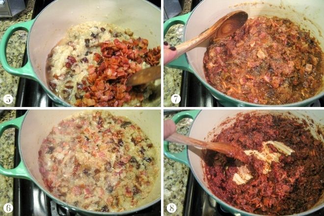 step by step photos to make bacon jam at home
