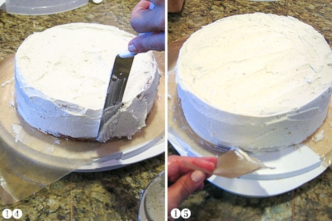 frosting a gluten free cake