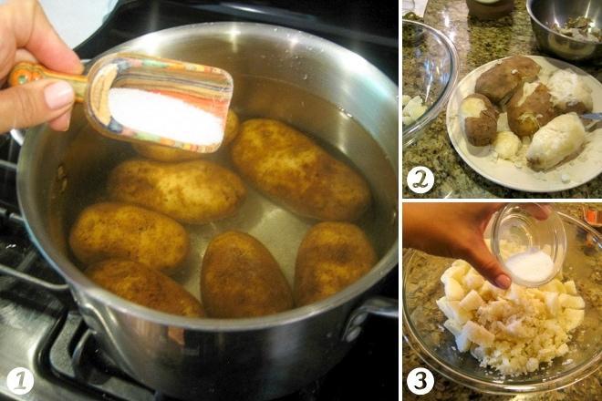 cooking potatoes for potato salad recipe