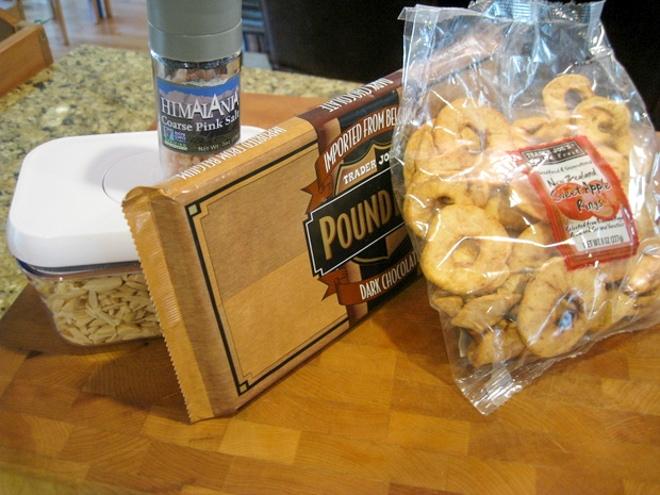 ingredients to make hanukkah candy